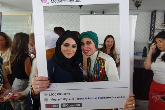 A selfie with Nour.  Follow us on Instagram @mrssrs1987 @womeninbusinessuae