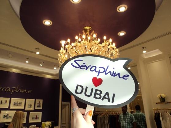 Love. Dubai. Seraphine.
